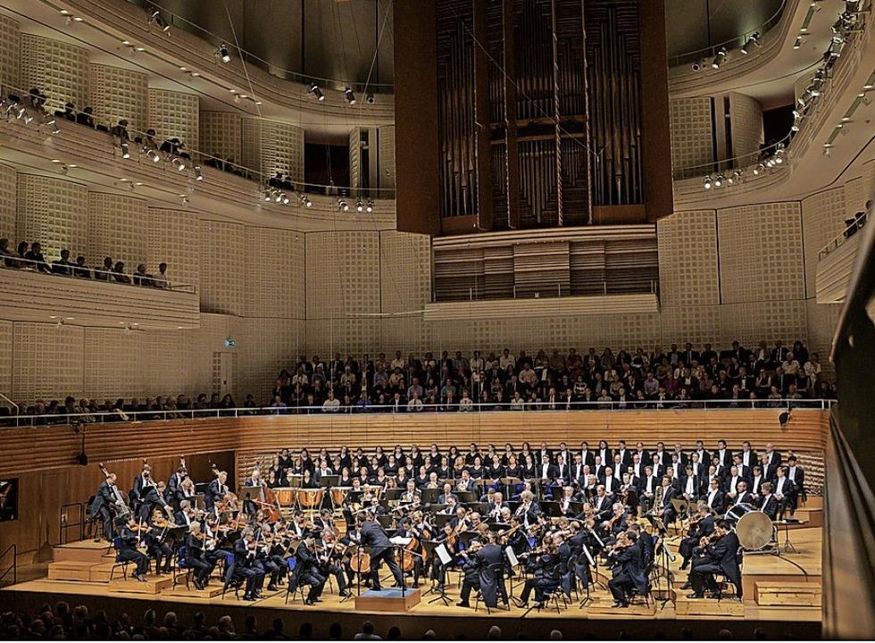Europaweit einmalige Akustik: der Konzertsaal in Luzern    Foto: Priska Ketterer
