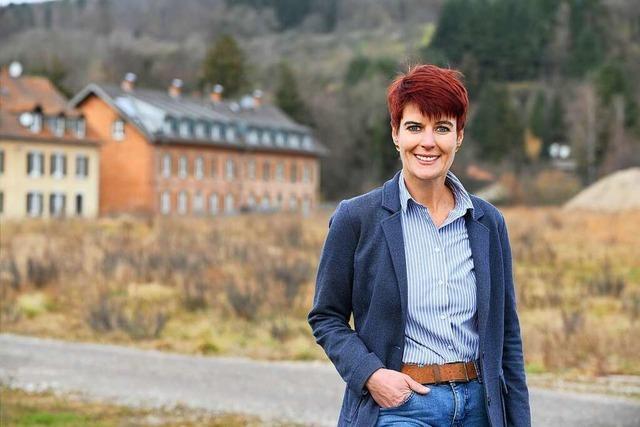 Kandidatenrundgang: Kaja Wohlschlegel möchte Veränderungen bei der Mobilität
