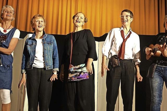 Die Vokaliesen sind fünf musikalische Freundinnen