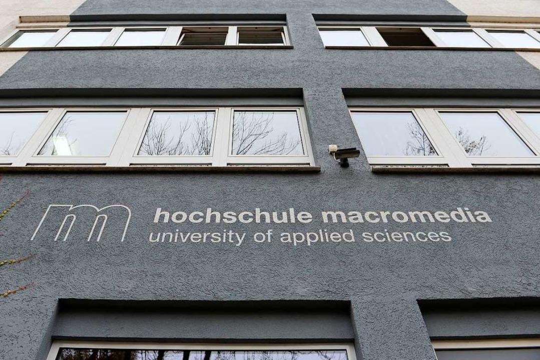Die  junge Hochschule Macromedia in Freiburg  | Foto: Ingo Schneider