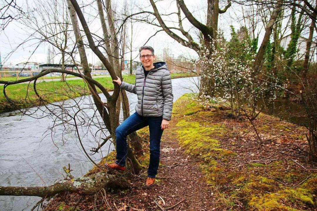 SFZ-Leiterin  Simone Krippl-Ketter, di...il Stegermatt aufgewertet werden kann.    Foto: Stadt Offenburg