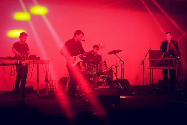 Die Band Kreidler will mit ihrer Musik einen Raum für Assoziationen schaffen