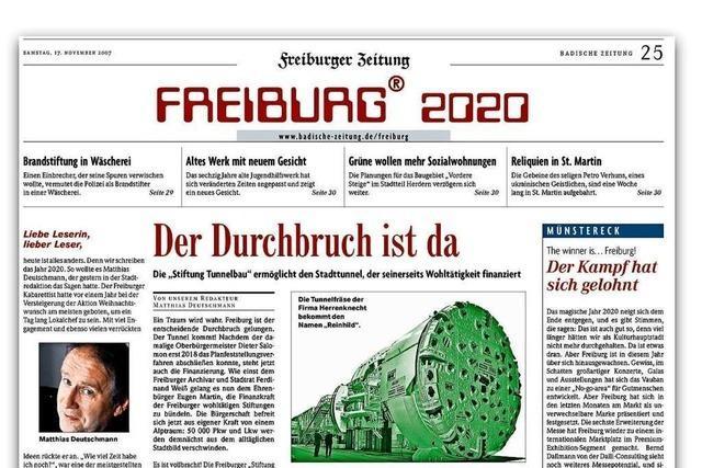 So sah Matthias Deutschmann vor dreizehn Jahre auf 2020