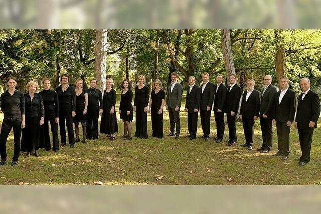 Das Tallis-Ensemble singt zwei Frühlingskonzerte in Freiburg