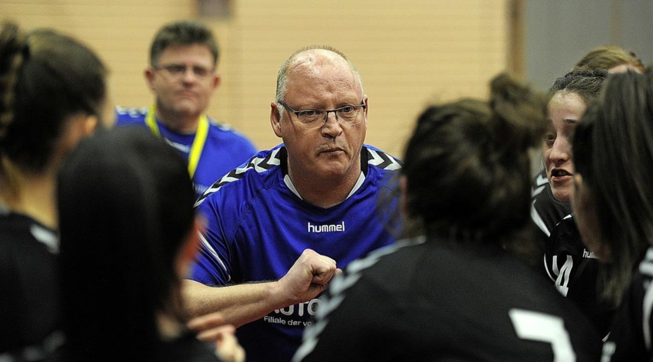Der zum Saisonende scheidende Trainer ...heim am Samstag beim SV Schutterzell.   | Foto: Pressebüro Schaller