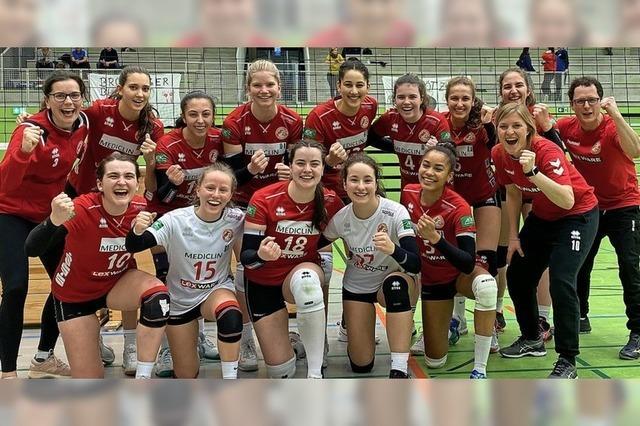 VC Offenburg süddeutscher Volleyball-Meister