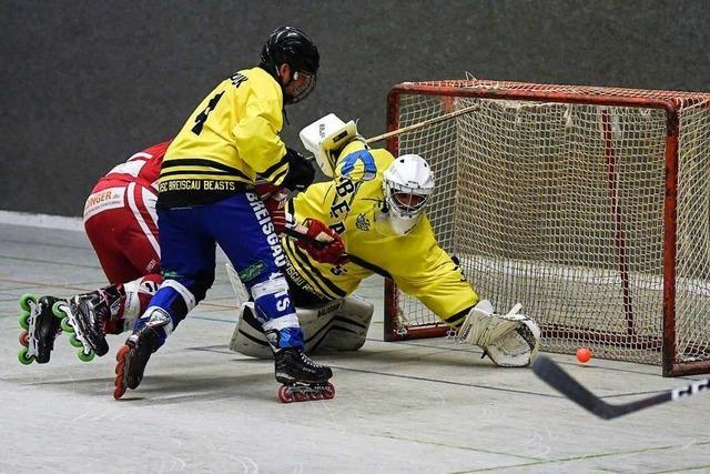 HC Merdingen bestraft Fehler der Breisgau Beasts im Zweitliga-Derby