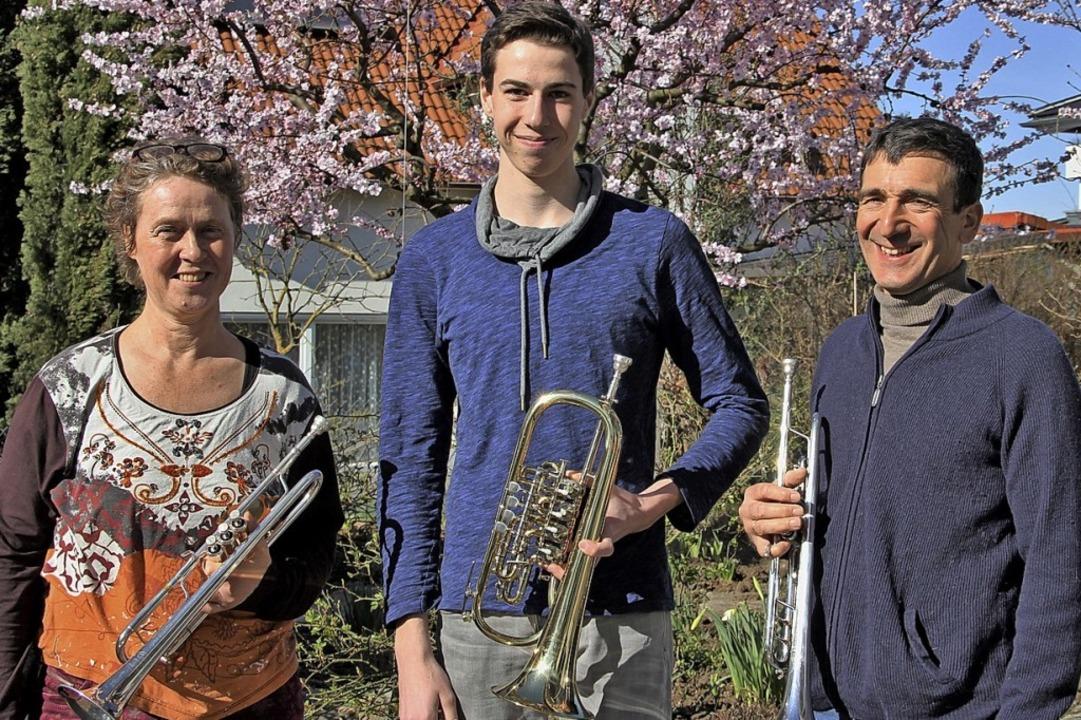 Ausbildungsleiterin Almut Rux, jüngste...und Obmann Andreas Ehring  (von links)    Foto: Sabine Model