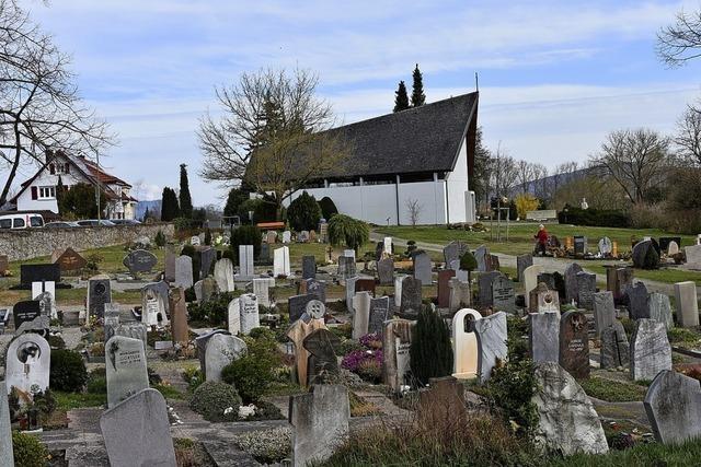 Friedhof Herten-Degerfelden wird aufgewertet