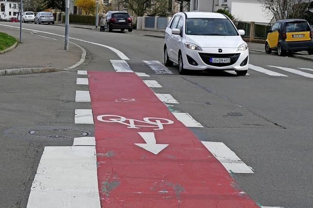 Keine Radschutzstreifen empfohlen