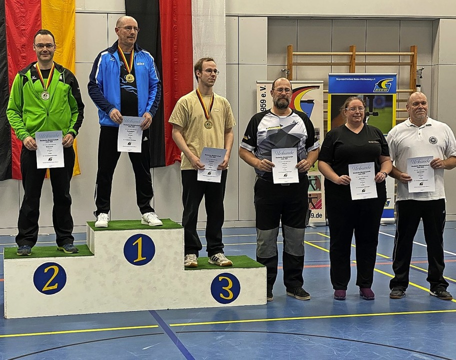 Zweiter Platz für Marcel Schmitt in der Disziplin Compound Blank    Foto: Veranstalter