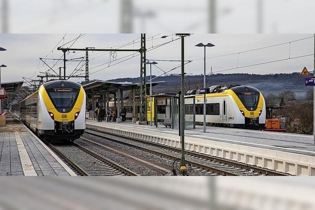 Breisgau-S-Bahn versucht, mehr Anschlüsse in Gottenheim zu halten