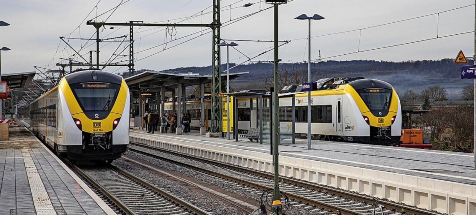 Der Bahnhof in Gottenheim: Bei Verspätungen gibt es Probleme.  | Foto: Hubert Gemmert