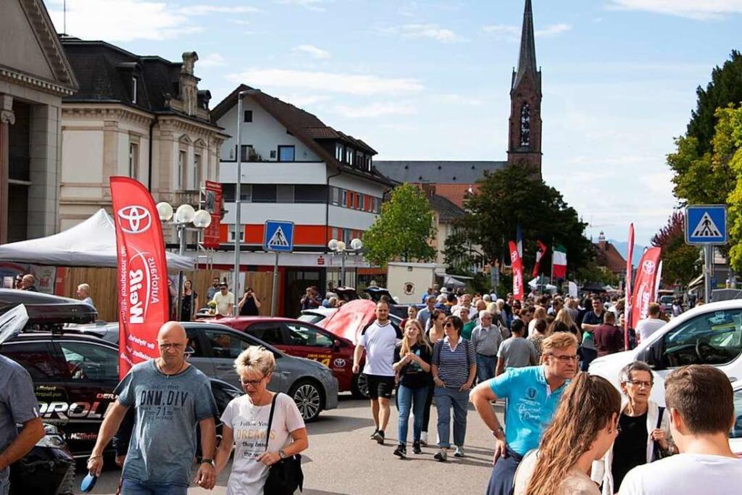Veranstaltungen wie der verkaufsoffene... Neuenburg werden vielleicht abgesagt.  | Foto: Volker Münch
