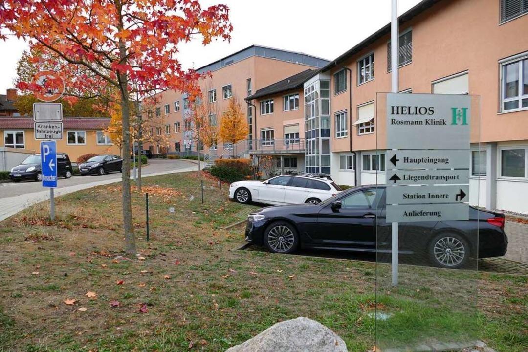 Besucher mit Erkältungssymptomen haben...en Zutritt zur  Helios-Rosmann-Klinik.  | Foto: Anne-Kathrin Wehrle