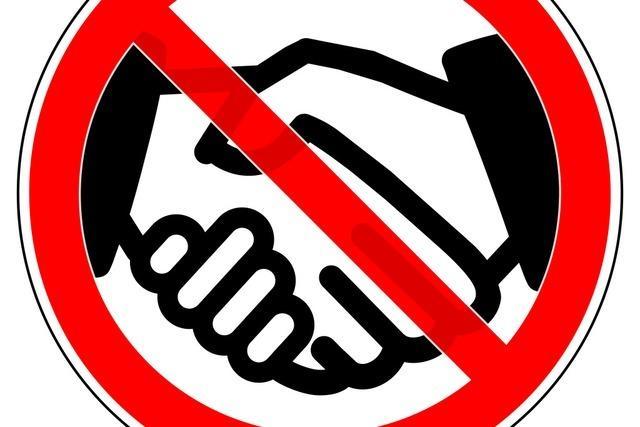 Händewaschen statt Händeschütteln: Nachruf auf ein Begrüßungsritual