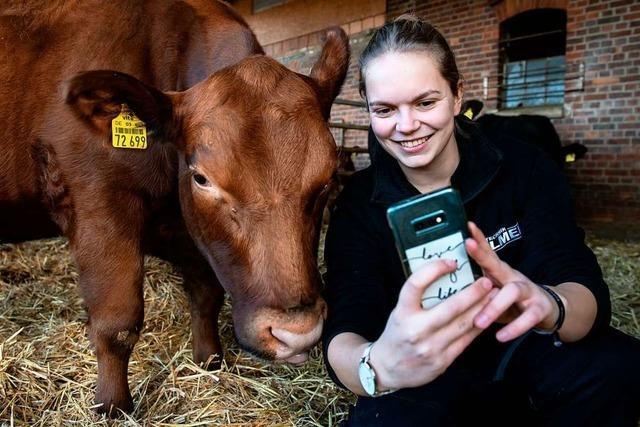 Influencer aus der Landwirtschaft haben Tausende Fans