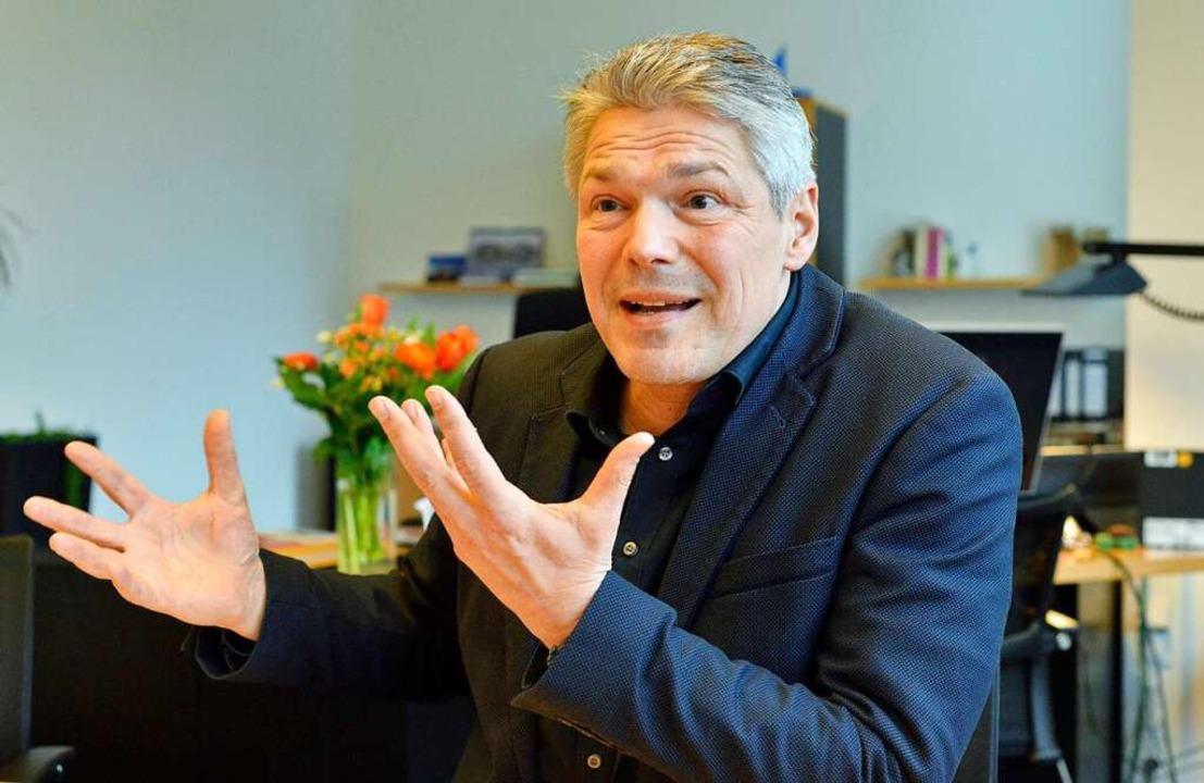 Stefan Breiter im BZ-Interview am Dienstag.  | Foto: Michael Bamberger