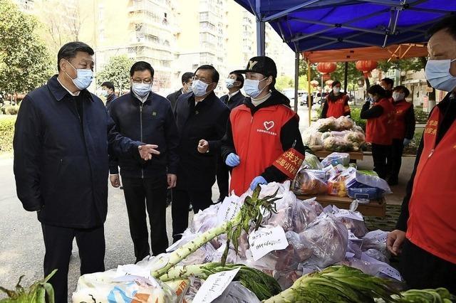 Xi sieht Erfolge im Kampf gegen Corona