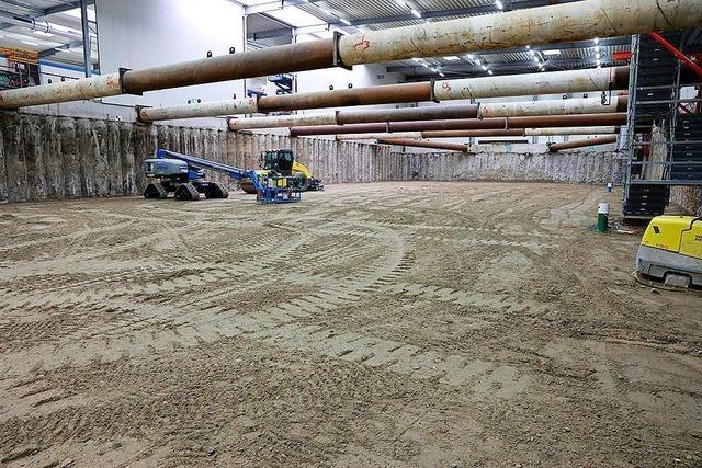 Roche hat seine Arbeiten im Baufeld Süd der Kesslergrube fast beendet
