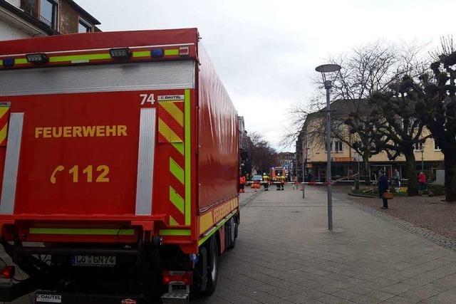 Rheinfelder Innenstadtbereich wegen Notfalls kurzfristig gesperrt