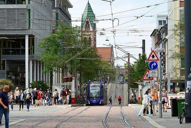 Nächtliche Prügelei in der Freiburger Innenstadt