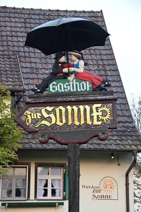 Das Glottertäler Gasthaus Zur Sonne wi...ut mit dem BIB Gourmand ausgezeichnet.  | Foto: Jonas Hirt