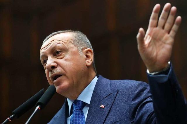 Erdogan vergleicht Vorgehen griechischer Ämter mit Nazi-Verbrechen