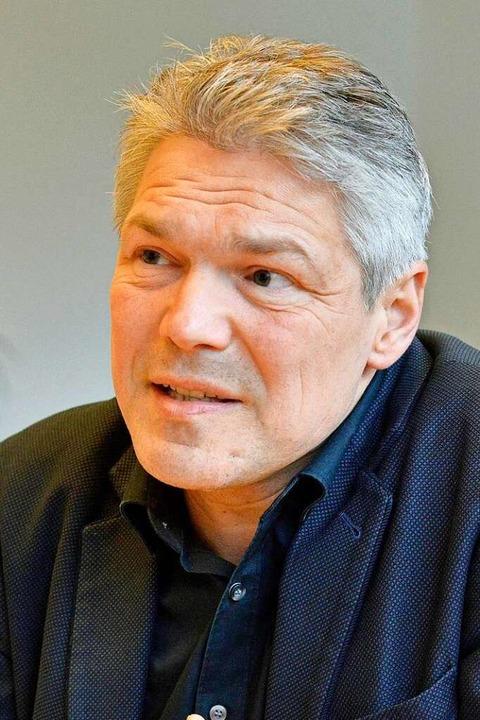 Bürgermeister Stefan Breiter am Dienstag im BZ-Interview.  | Foto: Michael Bamberger