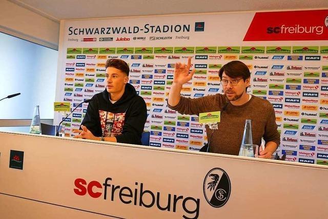Zischup-Aktionstag mit Robin Koch vom SC Freiburg