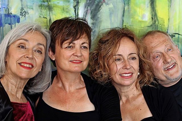 Die Gruppe pian-o-tour verbindet in Rheinfelden Klavierstücke mit Texten über eine Liebesbeziehung