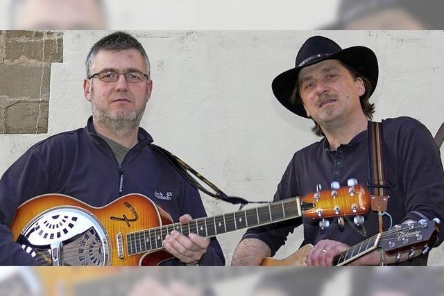 Karl David und Martin Lutz in Müllheim-Britzingen