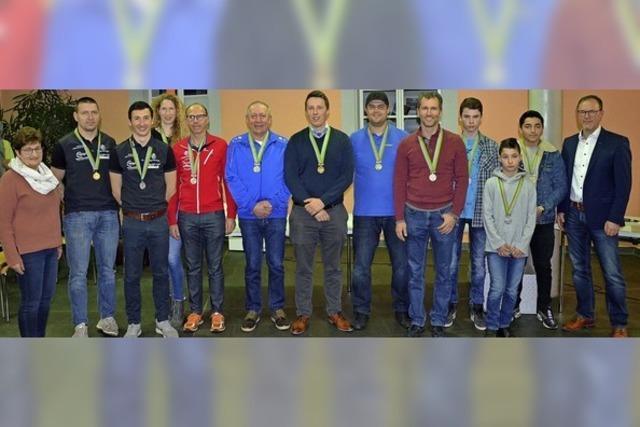 Dreimal Gold für Riegeler Sportler