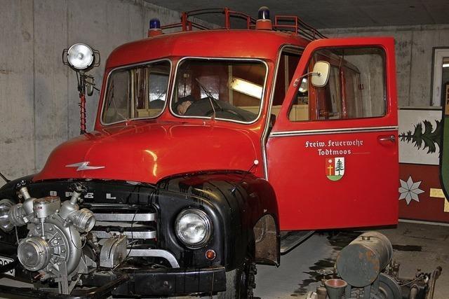 Der Feuerwehr-Blitz bleibt in Todtmoos