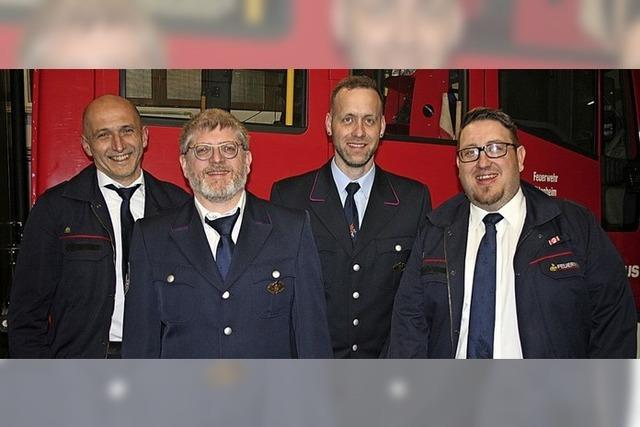Generationswechsel bei der Münchweierer Feuerwehr