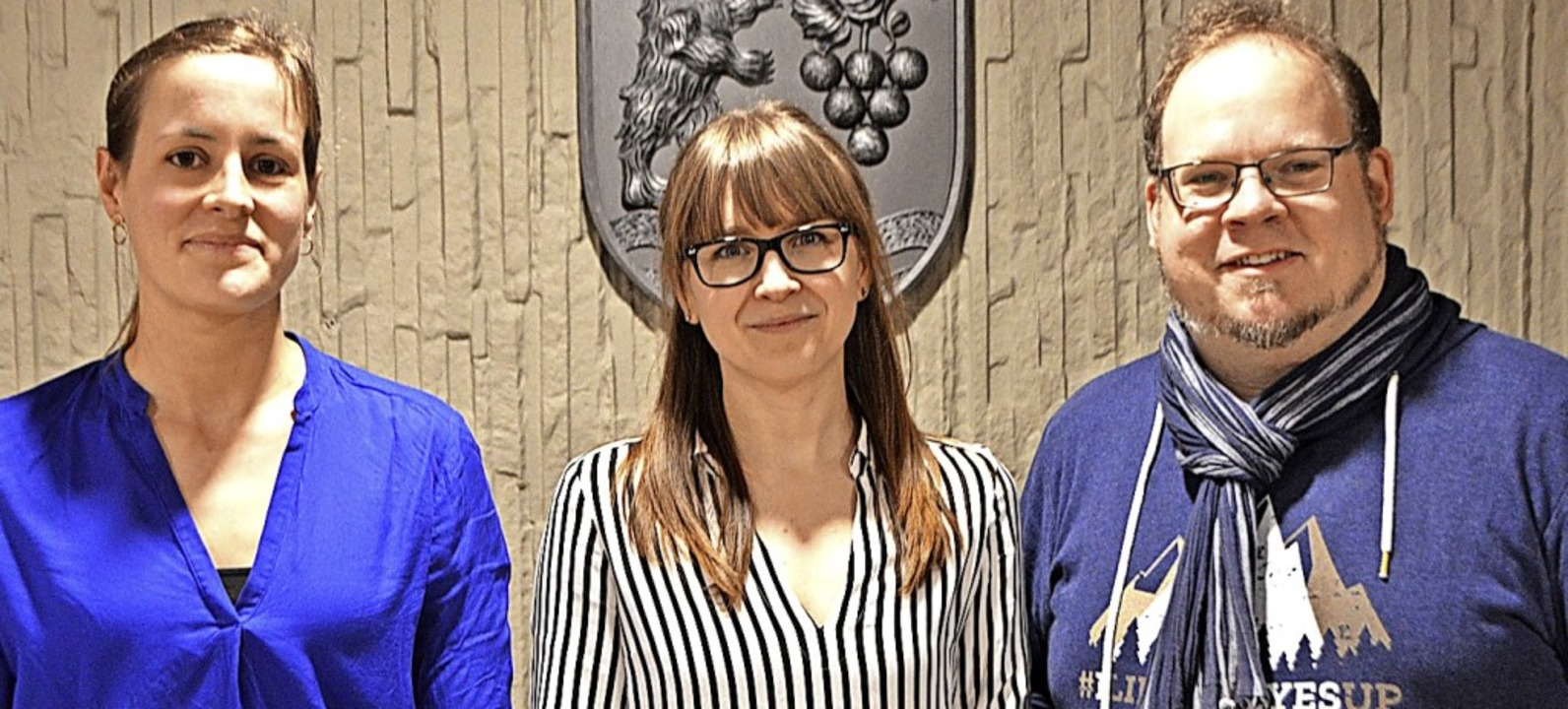 Schulsozialarbeiter Ninon Rößler (Lind...und Wolfgang Hüttermann (Schulzentrum)  | Foto: Horatio Gollin