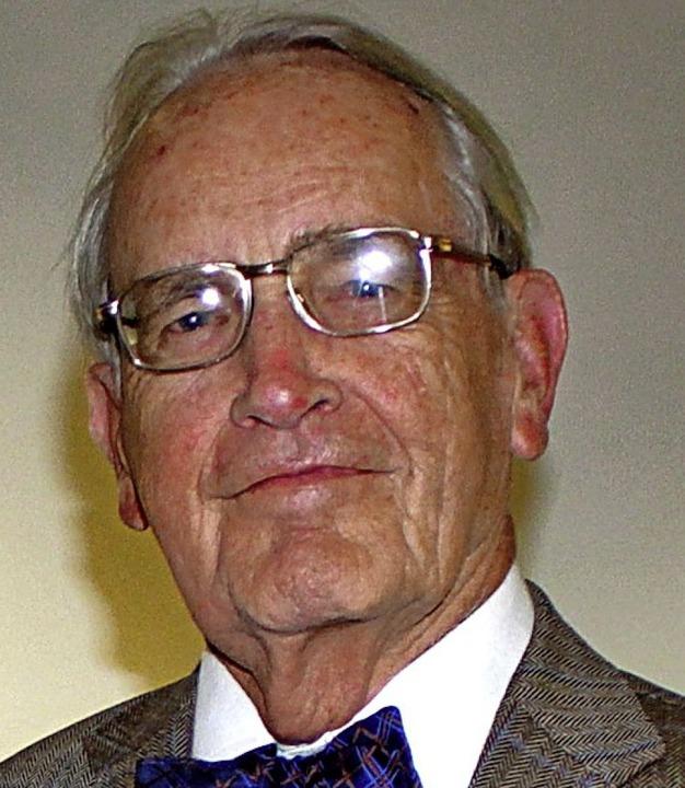 Heinz Rudolf Henche  | Foto: Rolf Reißmann