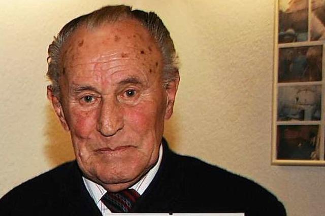 Der frühere Lehener Bürgermeister und Ortsvorsteher Heinz Scherer ist tot