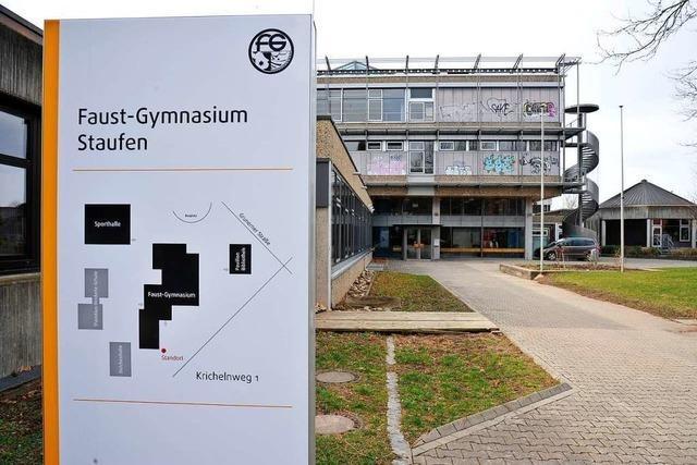 Am Faust-Gymnasium Staufen sind einige Lehrkräfte vom Dienst freigestellt