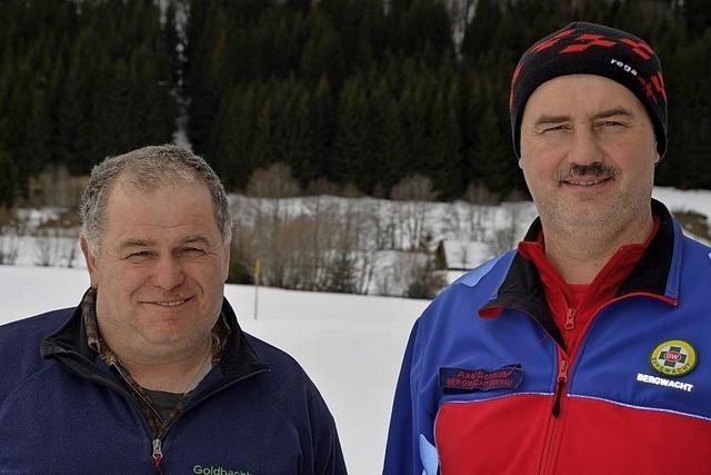 Bauern helfen Bergwacht