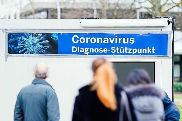 Erster positiver Corona-Test bei der Abstrichstelle in Rheinfelden