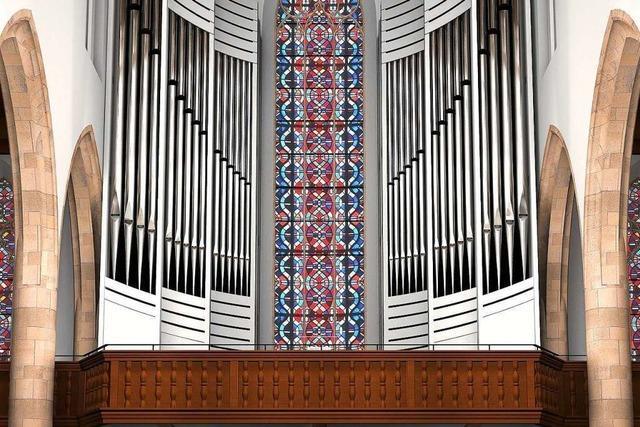 Neue Klais/Thomas-Orgel für die Freiburger Martinskirche