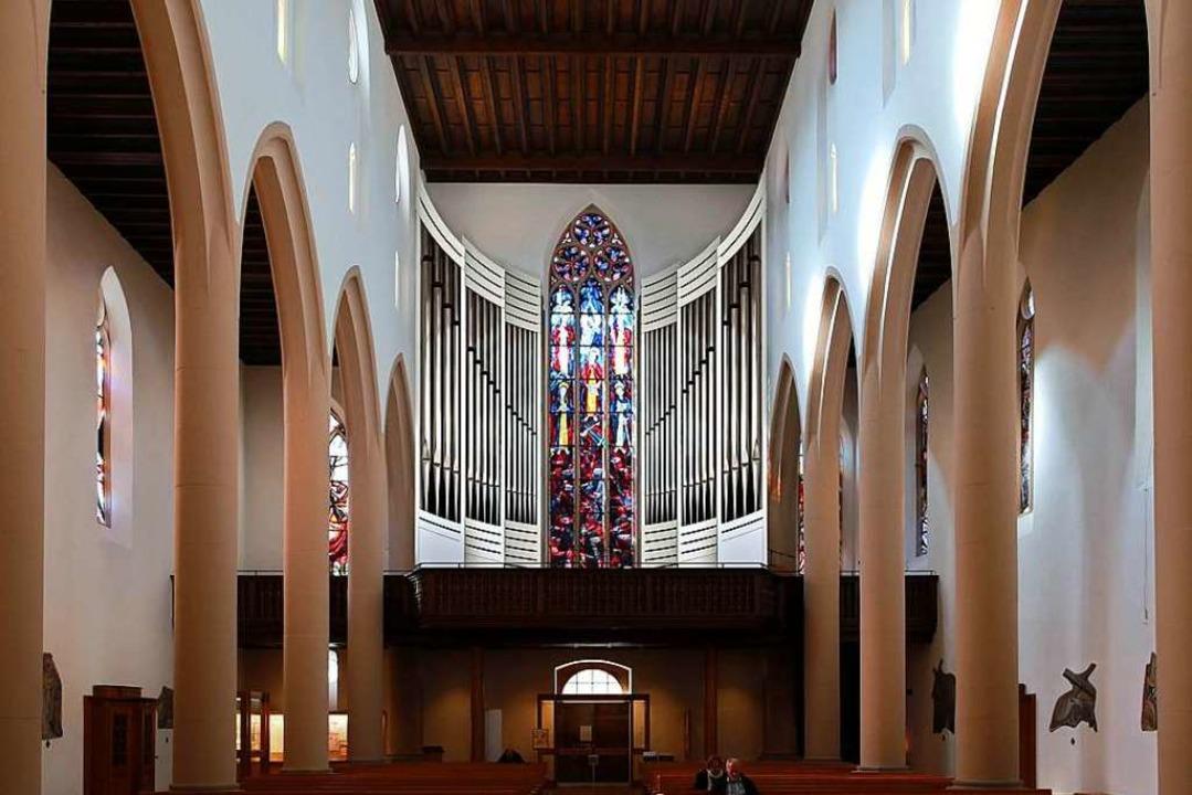 So wird sie nach Fertigstellung ausseh...-Orgel in der Freiburger Martinskirche  | Foto: Gesa Graumann (Orgelbau Klais)