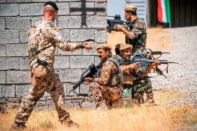 Bundeswehr setzt Anti-IS-Einsatz fort