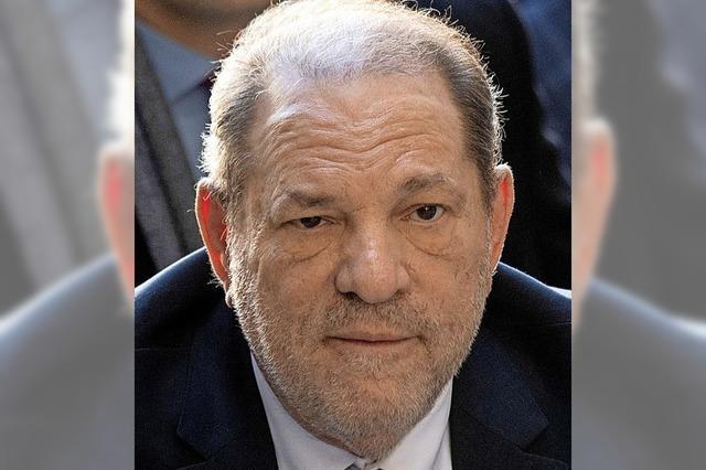 Harvey Weinstein muss für 23 Jahre ins Gefängnis