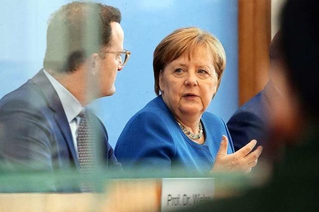 Angela Merkel agiert in der Corona-Krise wohltuend unaufgeregt
