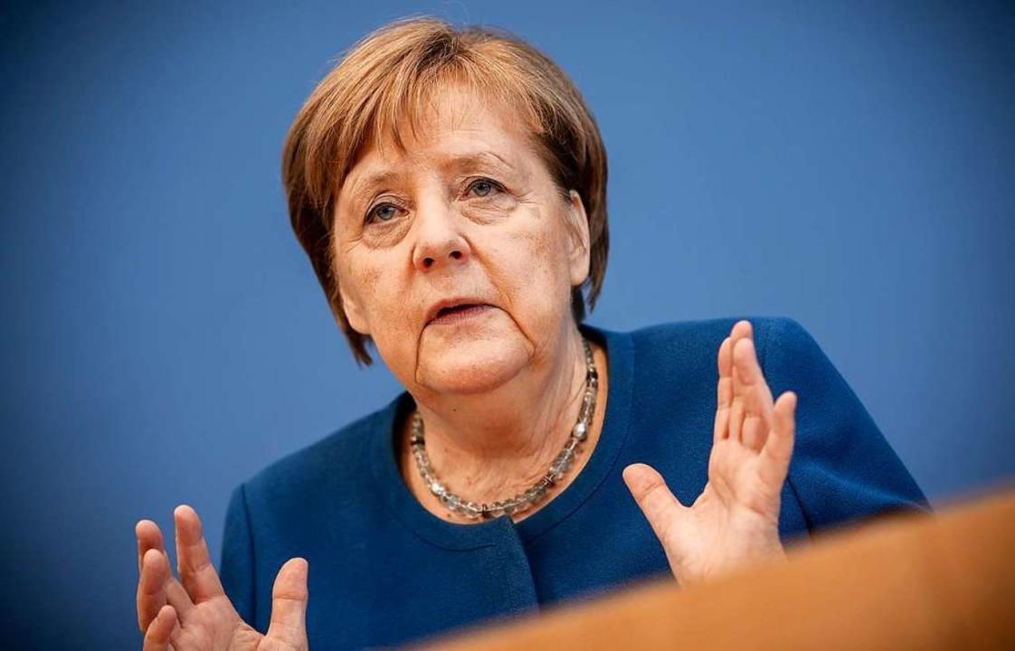 Angela Merkel.  | Foto: Michael Kappeler (dpa)