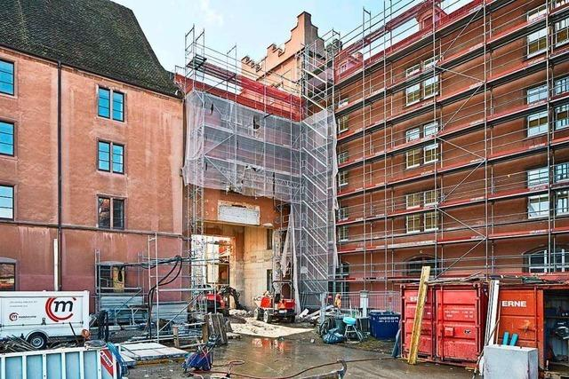 Der Umbau der Kaserne Basel läuft nach Plan