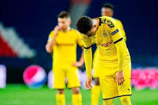 BVB unterliegt der Tuchel-Elf im Champions-League-Rückspiel 0:2
