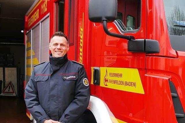 David Sommer wird Rheinfeldens erster hauptamtlicher Feuerwehrkommandant